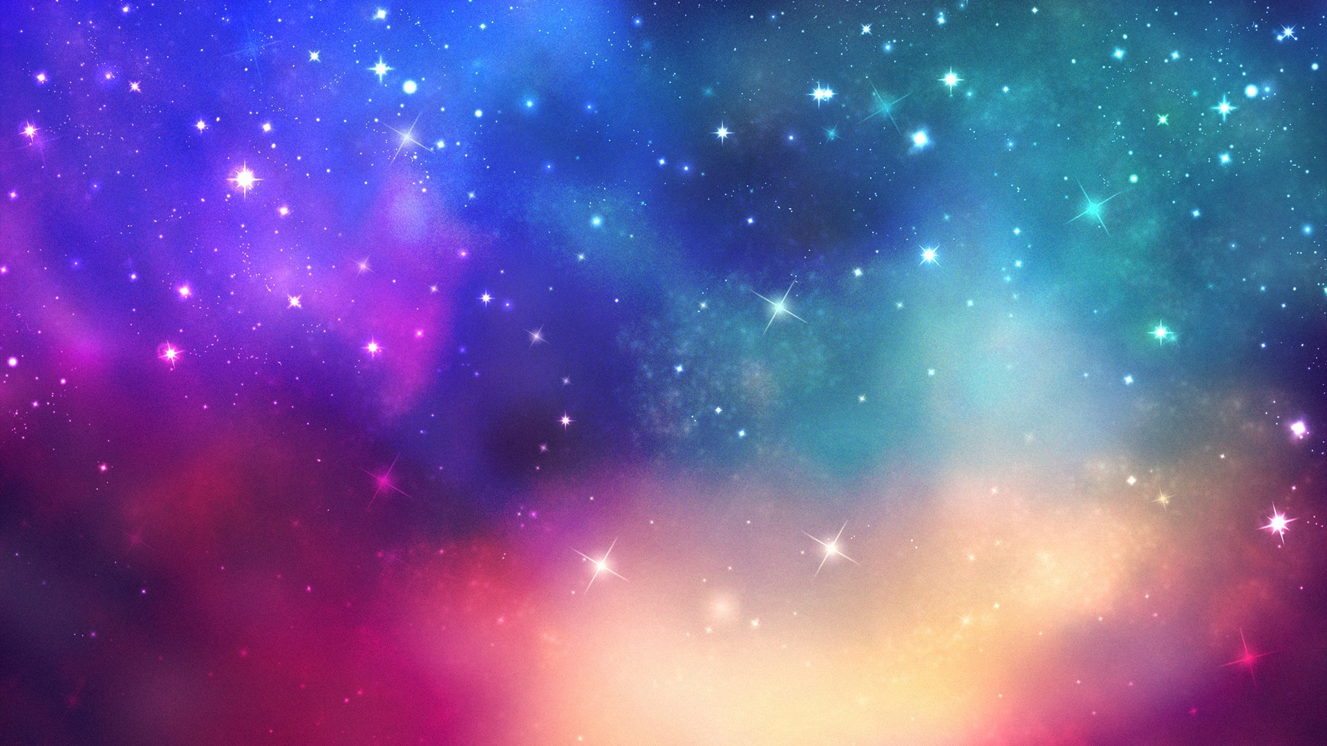 colorful galaxy view hd - photo #19